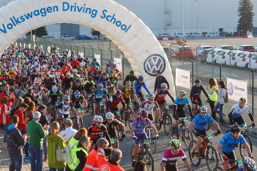 Marcha ciclista solidaria Volkswagen Solidaria Navarra