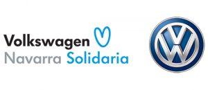 Logo Volkswagen Navarra Solidaria
