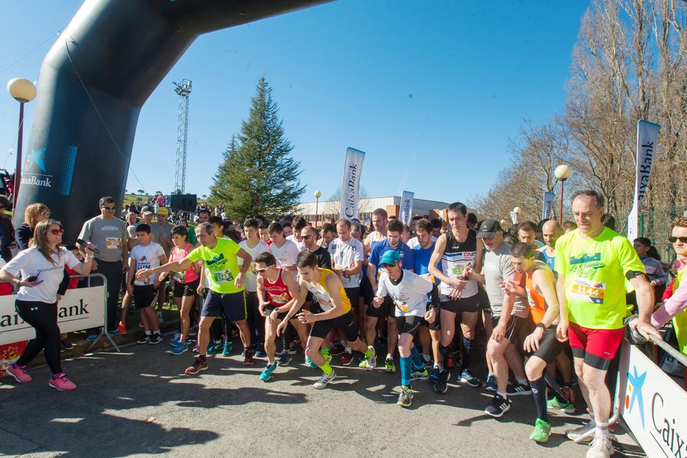 Imagen de participantes en la III Carrera de los Valientes